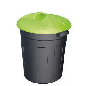 Цилиндрический пластиковый контейнер 110 литров