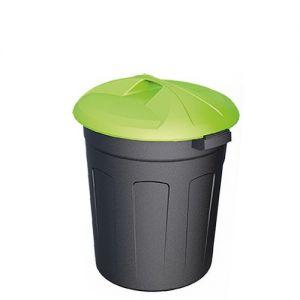 Цилиндрический пластиковый контейнер 50 литров