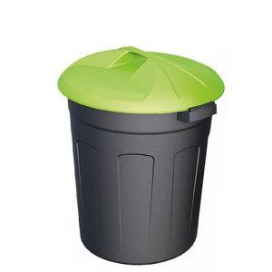 Цилиндрический пластиковый контейнер 90 литров