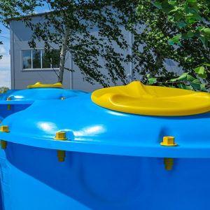 Ёмкость Лепесток 2000 литров (широкая)