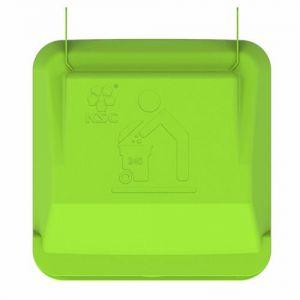 Крышка для контейнера мусорного на 240 литров