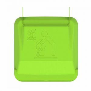 Крышка для контейнера мусорного на 80 литров