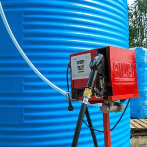 Мини АЗС вертикальная 2000 литров